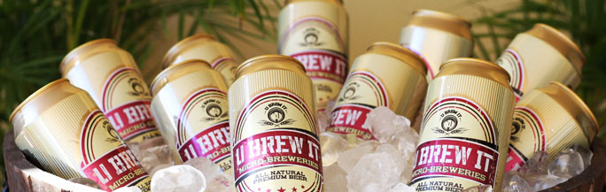 U-Brew It facilities are state-of-the-art for brewing beer